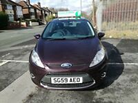 FORD FIESTA 1.4 ZETEC 16V 5DR Manual (red) 2009
