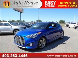 2013 HYUNDAI VELOSTER TURBO LEATHER ROOF NAVI B CAM LOW KM