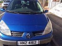 RENAULT SCENIC 1.5 DIESEL 7 SEATER DRIVES QUITE AND SMOOTH NO FAULTS
