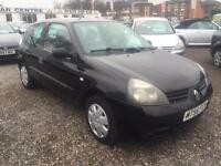 2006 RENAULT CLIO 1.2 Campus 2007 12 MONTHS WARRANTY AVAILABLE