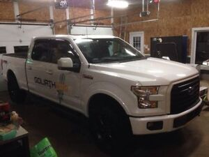 2015 Ford F-150 ecoboost XLT Sport FX4 - Sunroof console