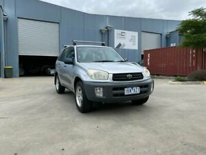 2000 Toyota RAV4 ACA21R Edge (4x4) Silver 5 Speed Manual 4x4 Wagon Newport Hobsons Bay Area Preview