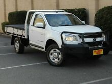 2013 Holden Colorado RG MY13 LX White 5 Speed Manual Cab Chassis Blair Athol Port Adelaide Area Preview