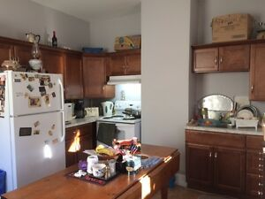 tons of light, 2 bedrooms on separate floors, Large windows