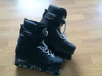 Anarchy black skates size UK 7