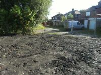 Land for sale, suitable storage, cars,garages, lockups,horses,stables approx. 70ft X 42ft. £25000.