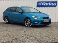 Seat Leon 1.4 Ecotsi 150 FR 5Dr [technology Pack] Estate (alor blue) 2016