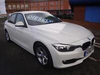 62 BMW 320D 163 BHP EFFICIENT DYNAMICS (BUSINESS MEDIA) DIESEL £20 ROAD TAX