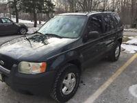 2003 Ford Escape SUV, Crossover, URGENT!!!!!