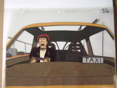 COWBOY BEBOP ANIME PRODUCTION CEL