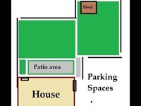 BRISTOL TO SOUTH LONDON - WANDSWORTH - 1 Bedroom semi detached house with garden & off road parking