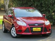 2015 Ford Focus LW MKII MY14 Ambiente PwrShift Maroon 6 Speed Sports Automatic Dual Clutch Hatchback Melrose Park Mitcham Area Preview