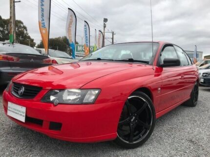 2002 Holden Commodore VY SV8 Red 4 Speed Automatic Sedan Para Hills West Salisbury Area Preview