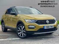 2018 Volkswagen T-Roc 1.0 Tsi Design 5Dr Hatchback Petrol Manual