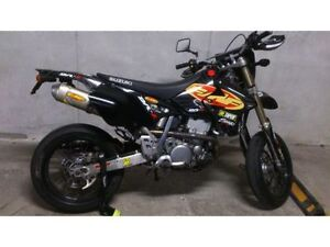 Black-FMF-Exhaust-Graphic-Kit-DRZ400SM-Drz400s-drz-400sm-400s-drz400-Shrouds