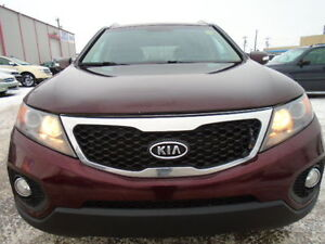 2011 Kia SORENTO EX V6-AWD-LUXURY-LEATHER-SUNROOF-BACK UP CAMERA