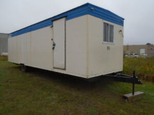 30 X 8 OFFICE TRAILER TOY HAULER STORAGE TRAILER