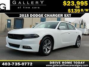 2015 Dodge Charger SXT $139 bi-weekly APPLY NOW DRIVE NOW