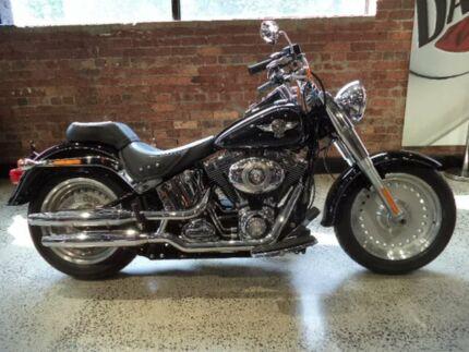 2011 Harley-Davidson FAT BOY 103 (FLSTF) Road Bike 1690cc West Melbourne Melbourne City Preview