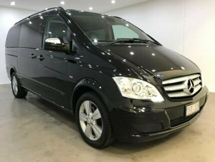 2012 Mercedes-Benz Viano 639 MY12 BlueEFFICIENCY Black 5 Speed Automatic Wagon Blacktown Blacktown Area Preview