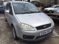 2004 Ford Focus C-Max, starts and drives, being sold as spares or repair, not quite running right, M