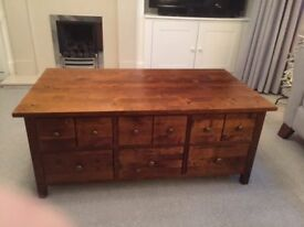 Coffee Table, solid Wood from Next Store