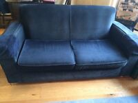 2/3 seat sofa and 2 seat single sofa bed