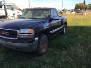2002 GMC Sierra 1500 Stepside Parting out