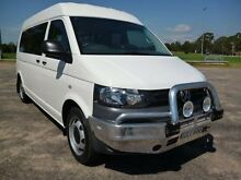 2012 Volkswagen Transporter T5 MY12 TDI400 White 7 Sports Automatic Dual Clutch Van Erina Gosford Area Preview