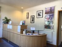 Office Space/Treatment room to rent with optional use of reception area in Long Ashton , Bristol
