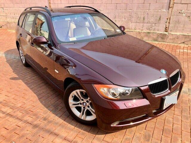 2008 328xi wagon, AWD, rare burgundy exterior e91, garaged