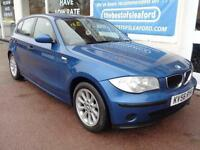 BMW 118 2.0TD 2006 d ES Full S/H 8 stamps low miles Finance Available p/x