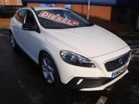 63 VOLVO V40 CROSS COUNTRY LUX DIESEL AUTO *SATNAV*HEATED LEATHER*WHITE*