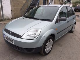 2003 Ford Fiesta automatic, starts and drives well, MOT until May 2018, 70,000 miles, clean inside a