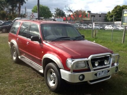 2000 Ford Explorer UQ XLT (4x4) Red 5 Speed Automatic 4x4 Wagon Hastings Mornington Peninsula Preview