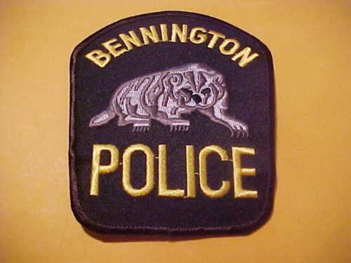 BENNINGTON NEBRASKA POLICE PATCH SHOULDER SIZE UNUSED