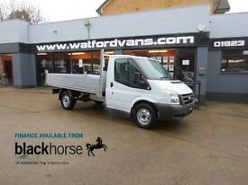 2010 Ford Transit T350 2.4TDCi New Alloy Back Tipper Diesel white Manual