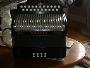 acheterais accordeon bouton