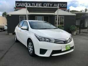 2016 Toyota Corolla ZRE172R Ascent White 7 Speed CVT Auto Sequential Sedan Morayfield Caboolture Area Preview