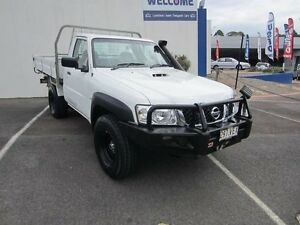 2007 Nissan Patrol GU 6 MY08 DX White 5 Speed Manual Cab Chassis Buderim Maroochydore Area Preview