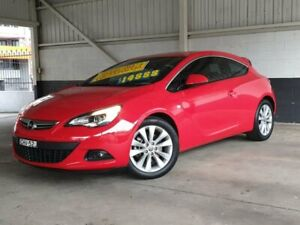 2012 Opel Astra AS GTC Red 6 Speed Sports Automatic Hatchback Homebush Strathfield Area Preview
