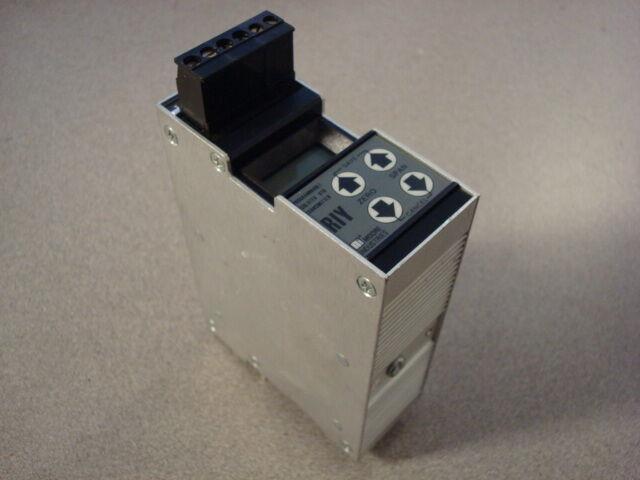 USED Moore RIY/PRG/4-20MA/12-42DC RTD Transmitter