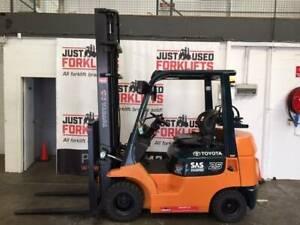 TOYOTA 42-7FGK25 4000MM # 11348; COMPACT; SIDE SHIFT;  @ $12,500(&GST) Strathfield Strathfield Area Preview