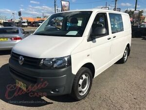2011 Volkswagen Transporter T5 MY10 132 TDI SWB Low White 7 Speed Automatic Van Lansvale Liverpool Area Preview