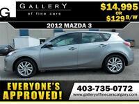 2012 Mazda Mazda3 GX $129 Bi-Weekly APPLY NOW DRIVE NOW