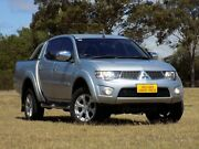 2014 Mitsubishi Triton MN MY15 GLX-R Double Cab Silver 5 Speed Sports Automatic Utility Enfield Port Adelaide Area Preview