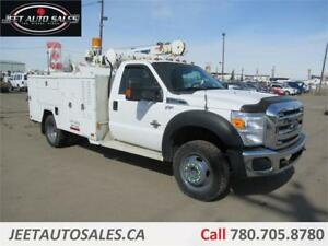 2014 Ford Super Duty F-550 DRW XL Service truck with 5005 Crane