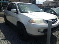 2001 Acura MDX CUIR 7 PASSAGERS