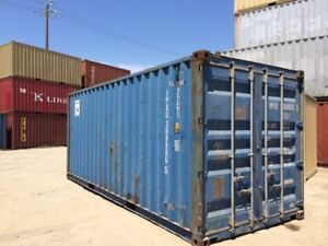 20FT USED SHIPPING CONTAINERS ONLY 2950 - DELTA - $2950