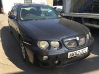 2002 MG ZT, starts and drives, car located in Gravesend Kent, no MOT, any questions give us a call